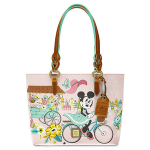 Disney Flower Garden Festival 2020 Minnie Mouse Tote Bag Dooney & Bourke New