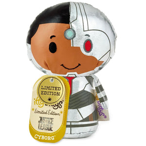 Hallmark Justice League Cyborg Limited Itty Bittys Plush New with Tag