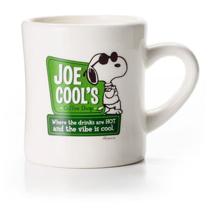 Hallmark Peanuts Snoopy's Diner Joe Cool's Ceramic Coffee Mug New