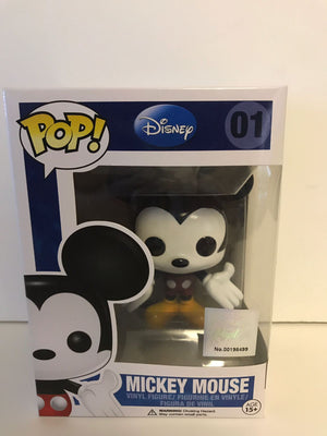 Disney Funko Authentic Poplife Sticker Mickey Mouse Pop New with Box