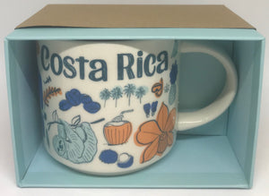 Starbucks Been There Series Collection Costa Rica Coffee Mug New With Box