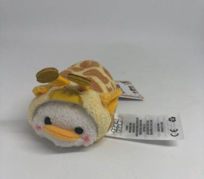 Disney Safari Donald Duck as Giraffe Mini Tsum Tsum Plush New with Tags