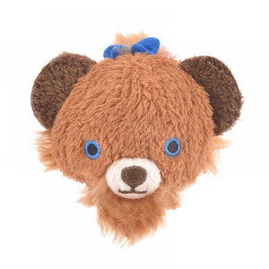 Disney Store Japan UniBEARsity Fauve The Beast Mini Tsum Plush New with Tags