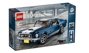Lego Creator Expert 1960s 1967 Ford Mustang Model Set 10265 1471 Pieces New