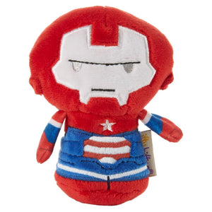 Hallmark Iron Patriot 2nd in Iron Man Series Itty Bittys Plush New with Tag