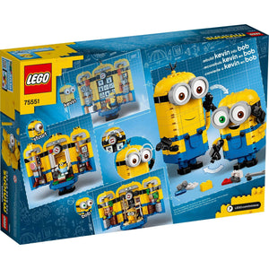 Lego 75551 Minions Brick-Built Minions and Their Lair New with box