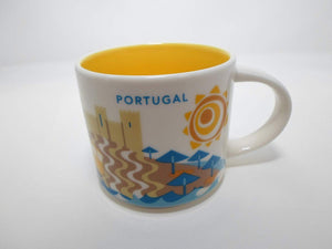 Starbucks You Are Here Collection Portugal Ceramic Coffee Mug New with Box