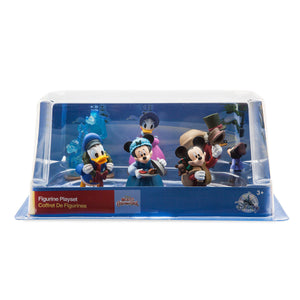 Disney Mickey's Christmas Carol Figure Play Set Cake Topper Playset 6 pieces New