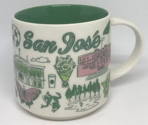 Starbucks Been There Series Collection San Jose Costa Rica Coffee Mug New