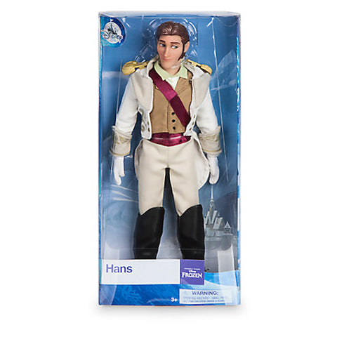 Disney Store Frozen Hans Classic Doll New with Box