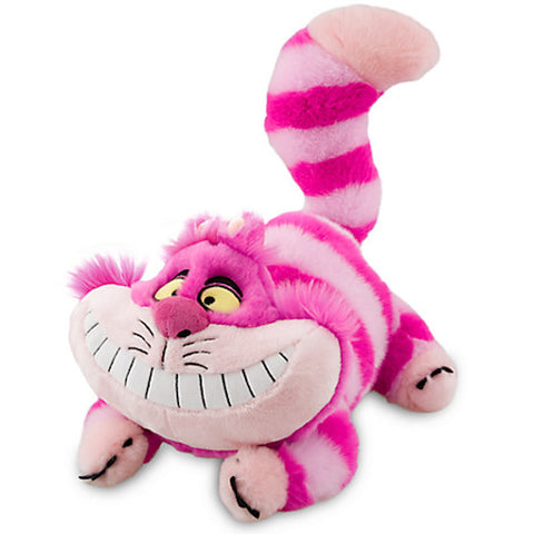 Disney Store Cheshire Cat Plush Alice in Wonderland Medium - 20'' Toy New With Tags