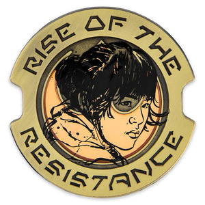 Disney Rose Tico Pin Star Wars Galaxy's Edge Rise of the Resistance Limited New