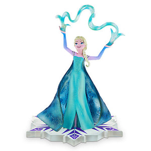 Disney Medium Figure Statue Elsa Fronzen Winter Princess Figurine New With Box