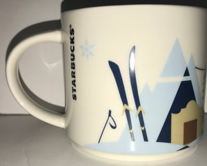 Starbucks You Are Here Collection Vail Colorado Ceramic Coffee Mug New