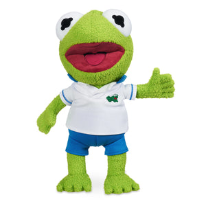 Disney Muppet Babies Kermit Frog Small Plush New with Tags
