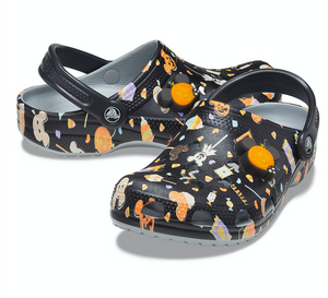 Disney Mickey Halloween Clogs for Adults by Crocs M6/W8 New with Tag