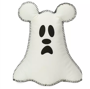 Disney Parks Halloween Mickey Mouse Ghost Pillow Boo to You New with Tag