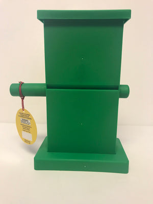 M&M's World Zig Zag Green Candy Dispenser New with Tags