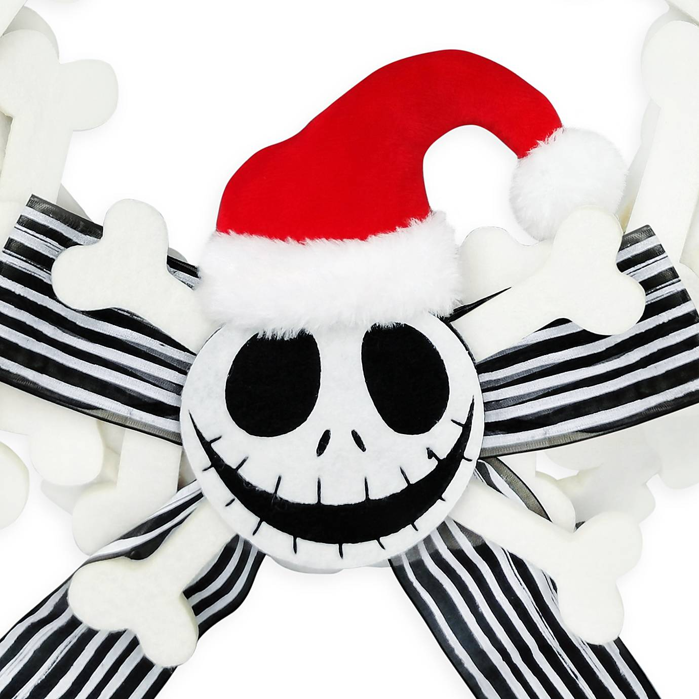 Disney Nightmare Before Christmas Jack Skellington Holiday Wreath New I Love Characters