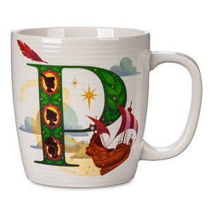 Disney Parks ABC Letters P is for Peter Pan's Flight Ceramic Coffee Mug New