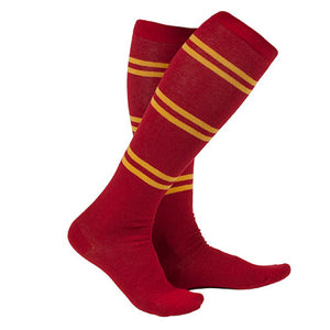 Universal Studios Wizarding World Of Harry Potter Gryffindor Striped Socks New