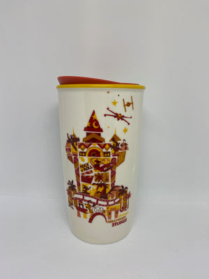 Disney Starbucks Hollywood Studios Icons and Attractions Coffee Tumbler Mug New