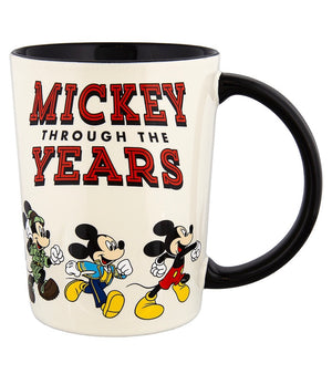 Disney Parks Mickey Through the Years Ceramic Coffee Mug New