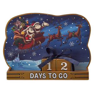 Disney Parks Turn the Century Holiday Countdown Calendar Mickey Minnie Santa New