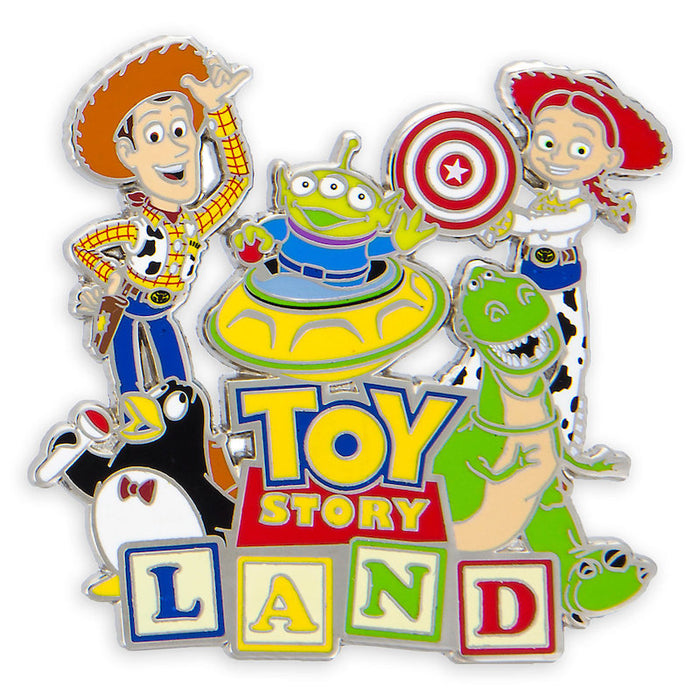 Disney Parks Toy Story Land Logo Pin New with Card