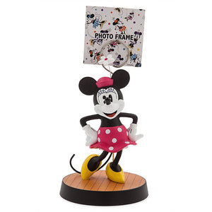Disney Parks Red Minnie Mouse Photo Clip Frame New with Tag