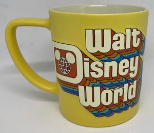 Disney Parks Walt Disney World Retro Coffee Mug New