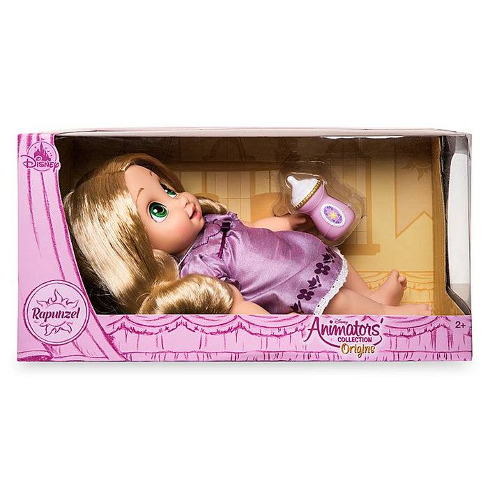 Disney Animators' Collection Rapunzel Doll Origin Series New with Box