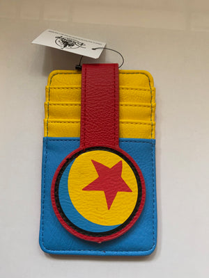 Disney Parks Pixar Ball Credit Cards Holder New with Tag