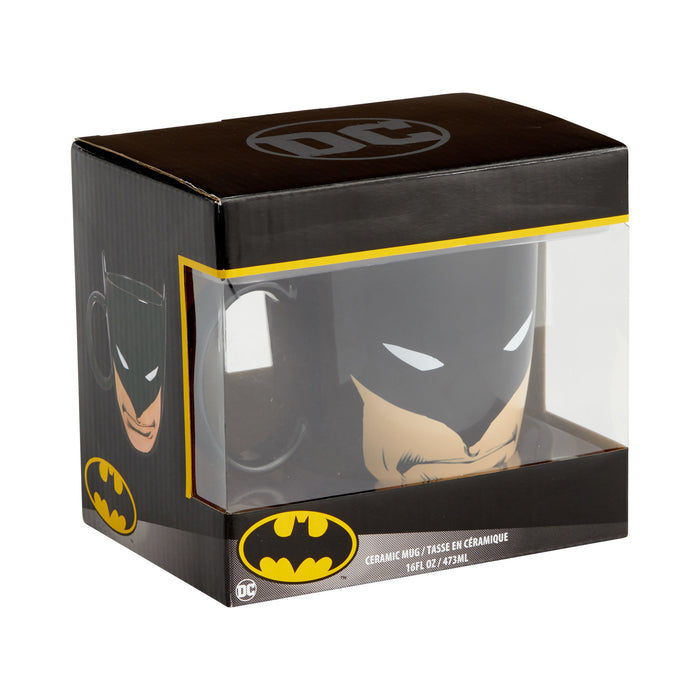 DC Comics by Our Name Is Mud Batman Sculpted Mug New with Box