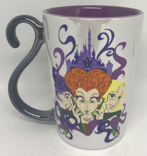Disney Parks Hocus Pocus Sanderson Sisters Binx Cat Halloween Coffee Mug New