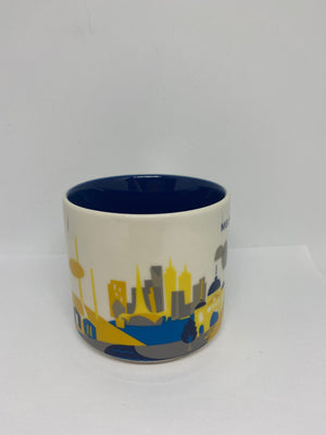 Starbucks You Are Here Collection Australia Melbourne Coffee Mug New with Box