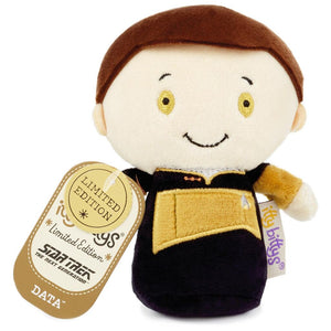 Hallmark Star Trek Lieutenant Limited Itty Bittys Plush New with Tag