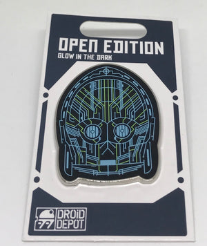 Disney Parks Star Wars Galaxy Edge Droid Depot C3PO Pin New with Card