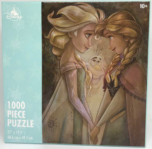 Disney Parks Frozen Elsa Anna Olaf 1000 Pcs Puzzle New with Box