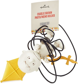 Hallmark Peanuts Charlie Brown with Kite Photo Memo Holder New