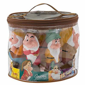 disney parks junior seven dwarfs pool bath toy set new with sealed bag