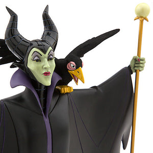 disney parks sleeping beauty maleficent casey jones statue figurine new with box