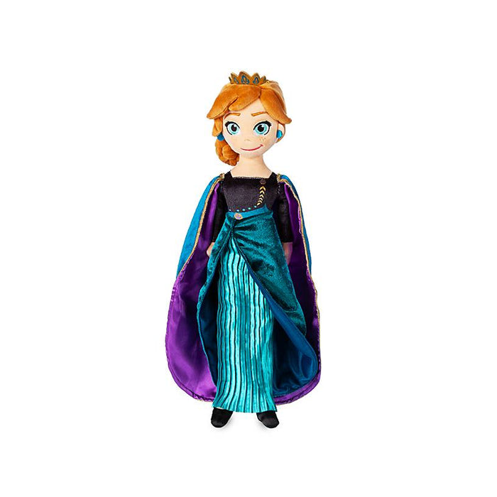 Disney Frozen 2 Queen Anna Doll Medium Plush New with Tag