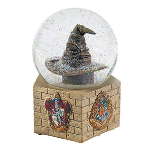 Universal Studios The Wizarding World Of Harry Potter Sorting Hat Snow Globe New