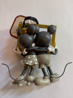 Hallmark Valentine Mickey and Minnie Love You and Me Meant to Be Ornament New
