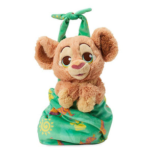 Disney Parks Baby Nala in a Blanket Pouch Plush New with Tags