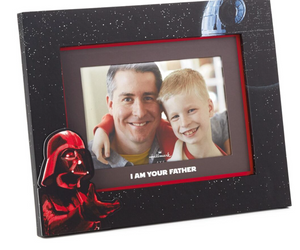 Hallmark Star Wars Darth Vader I Am Your Father Black Picture Frame 4x6 New