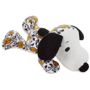 Hallmark Peanuts Jack-o'-Lantern Snoopy Floppy Plush 10.5 inc New with Tags