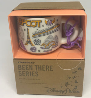 Disney Parks Starbucks Been There Epcot Coffee Mug Ornament New with Box