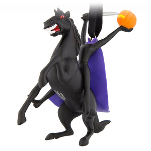 Disney Parks Halloween Headless Horseman Figural Ornament New with Tags